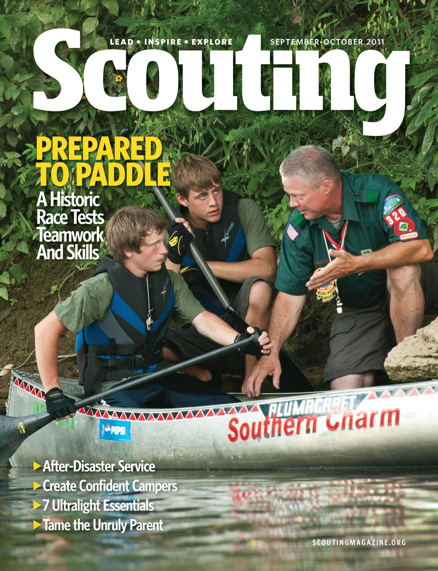 Scouting, Volume 99, Number 4, September-October 2011                                                                                                      Front Cover