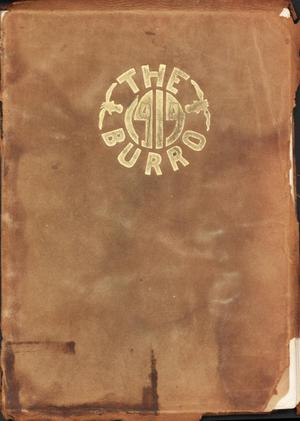 Primary view of object titled 'The Burro, Yearbook of Mineral Wells High School, 1914'.