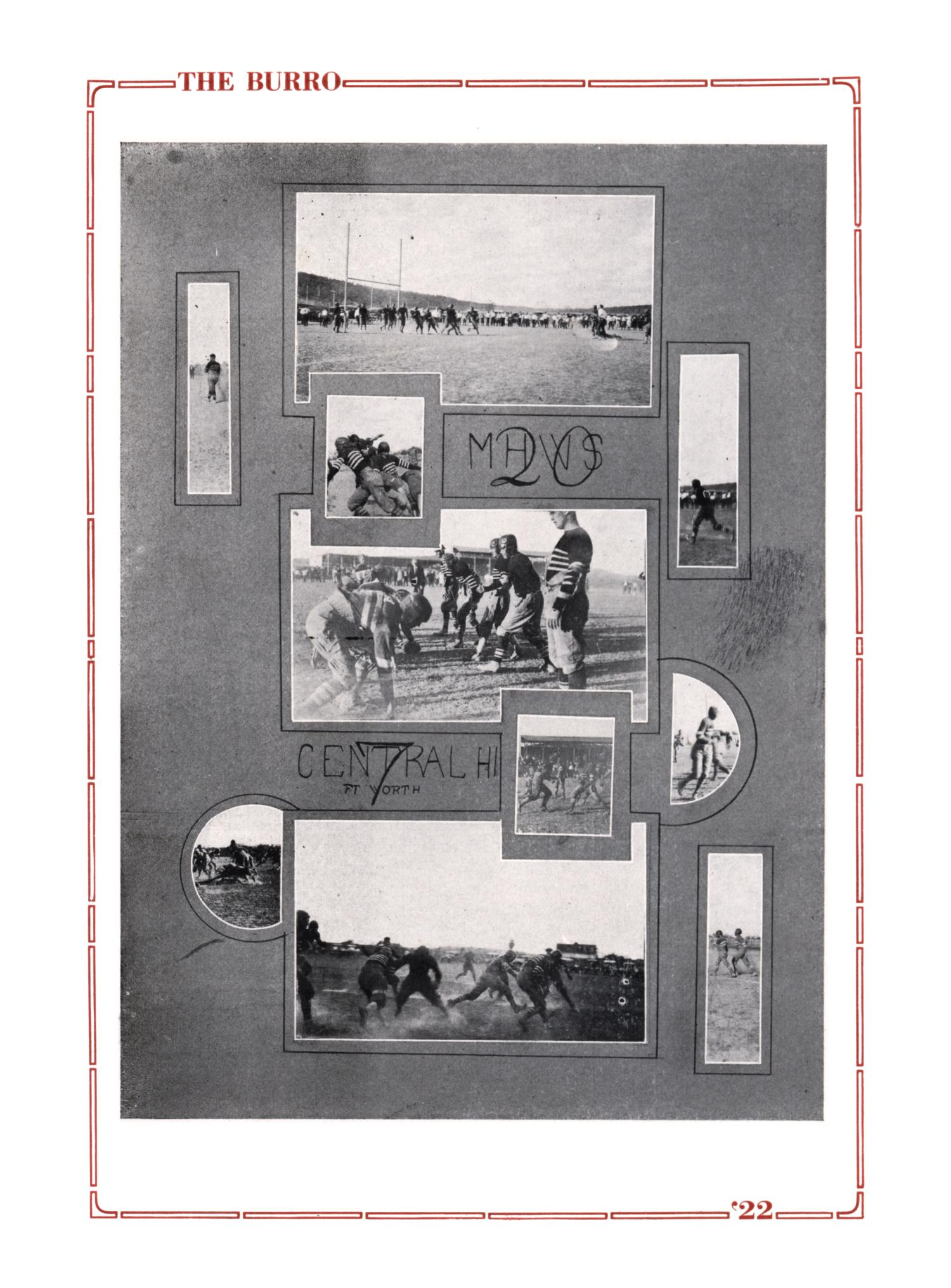 The Burro, Yearbook of Mineral Wells High School, 1922                                                                                                      70