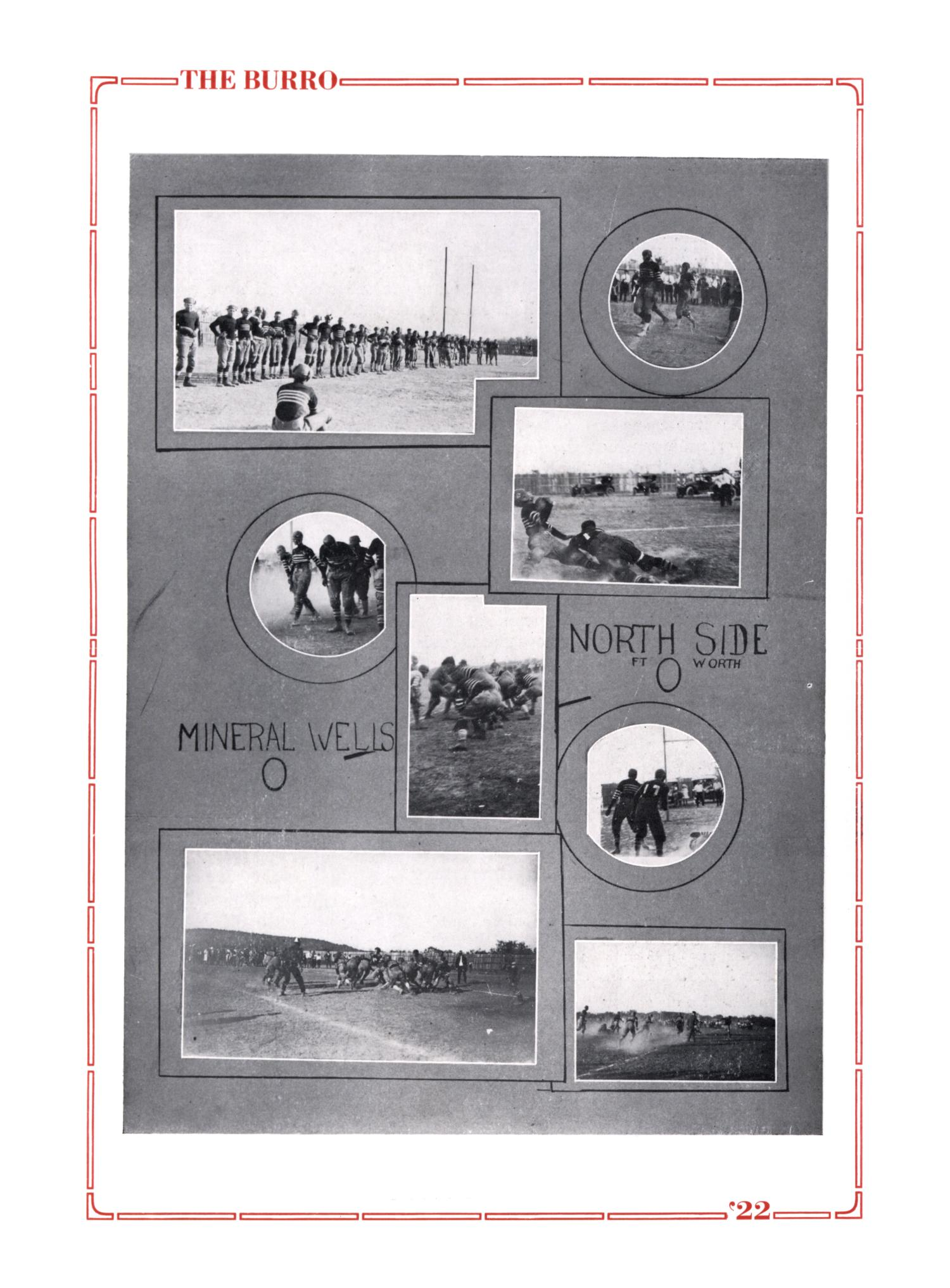 The Burro, Yearbook of Mineral Wells High School, 1922                                                                                                      71