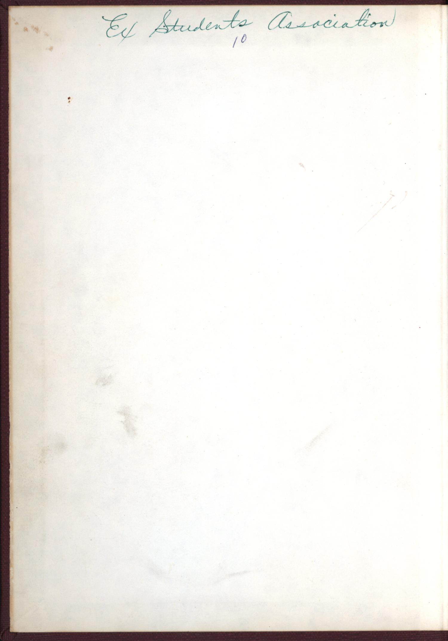 The Burro, Yearbook of Mineral Wells High School, 1923                                                                                                      Front Inside