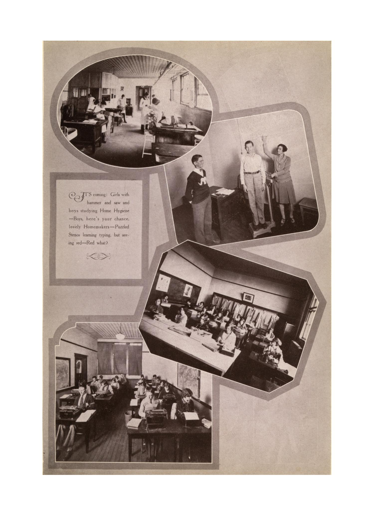 The Burro, Yearbook of Mineral Wells High School, 1928                                                                                                      55