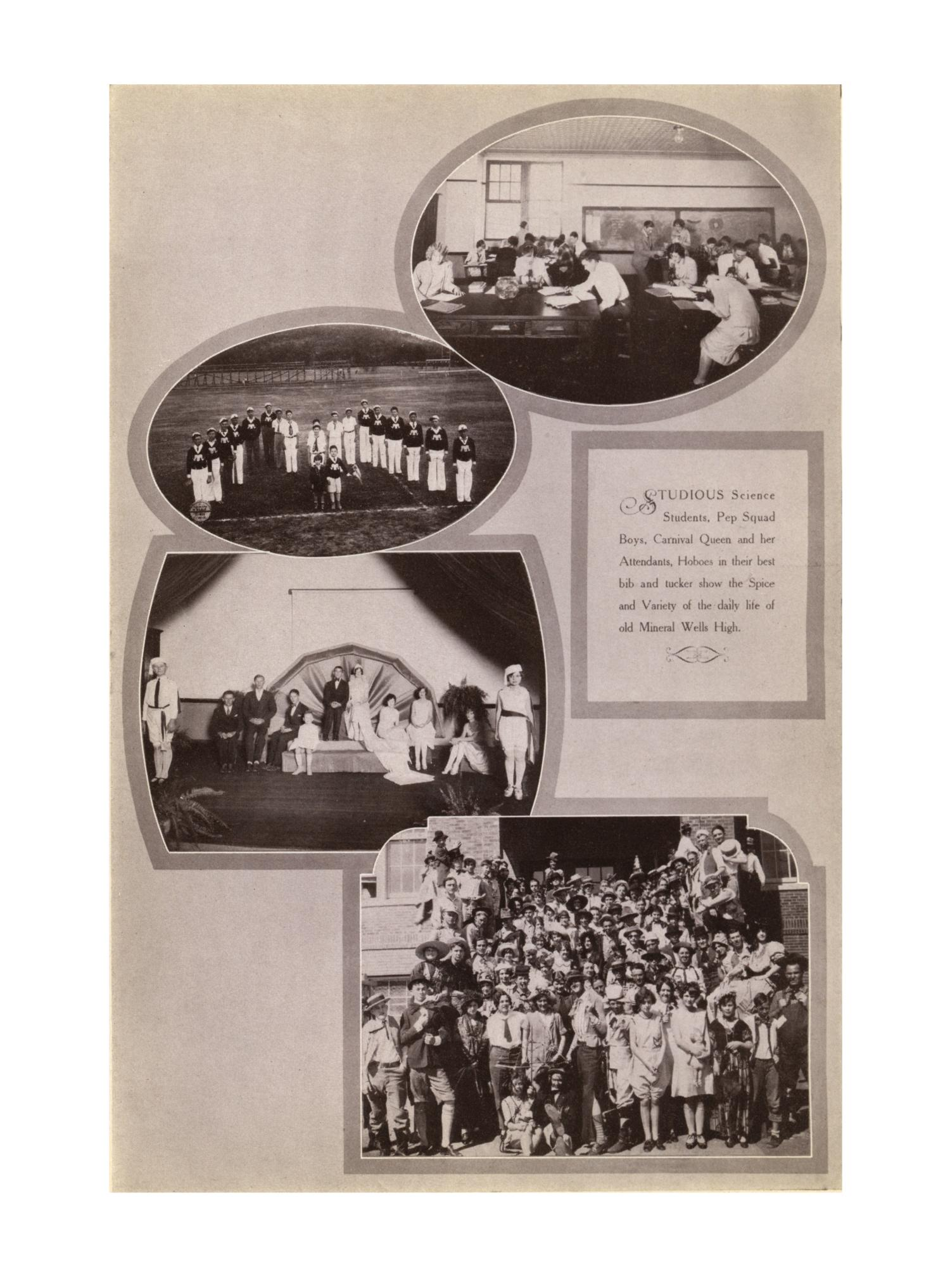 The Burro, Yearbook of Mineral Wells High School, 1928                                                                                                      60