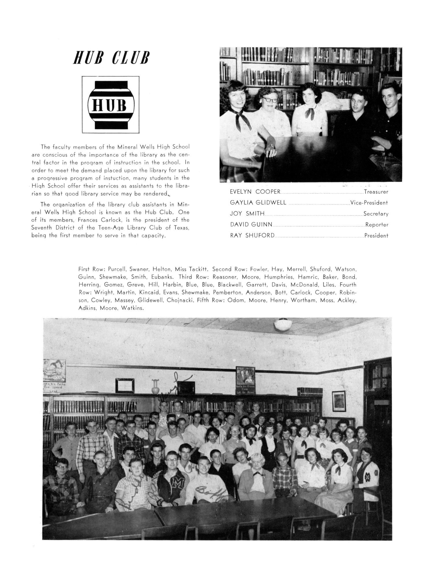 The Burro, Yearbook of Mineral Wells High School, 1953                                                                                                      83