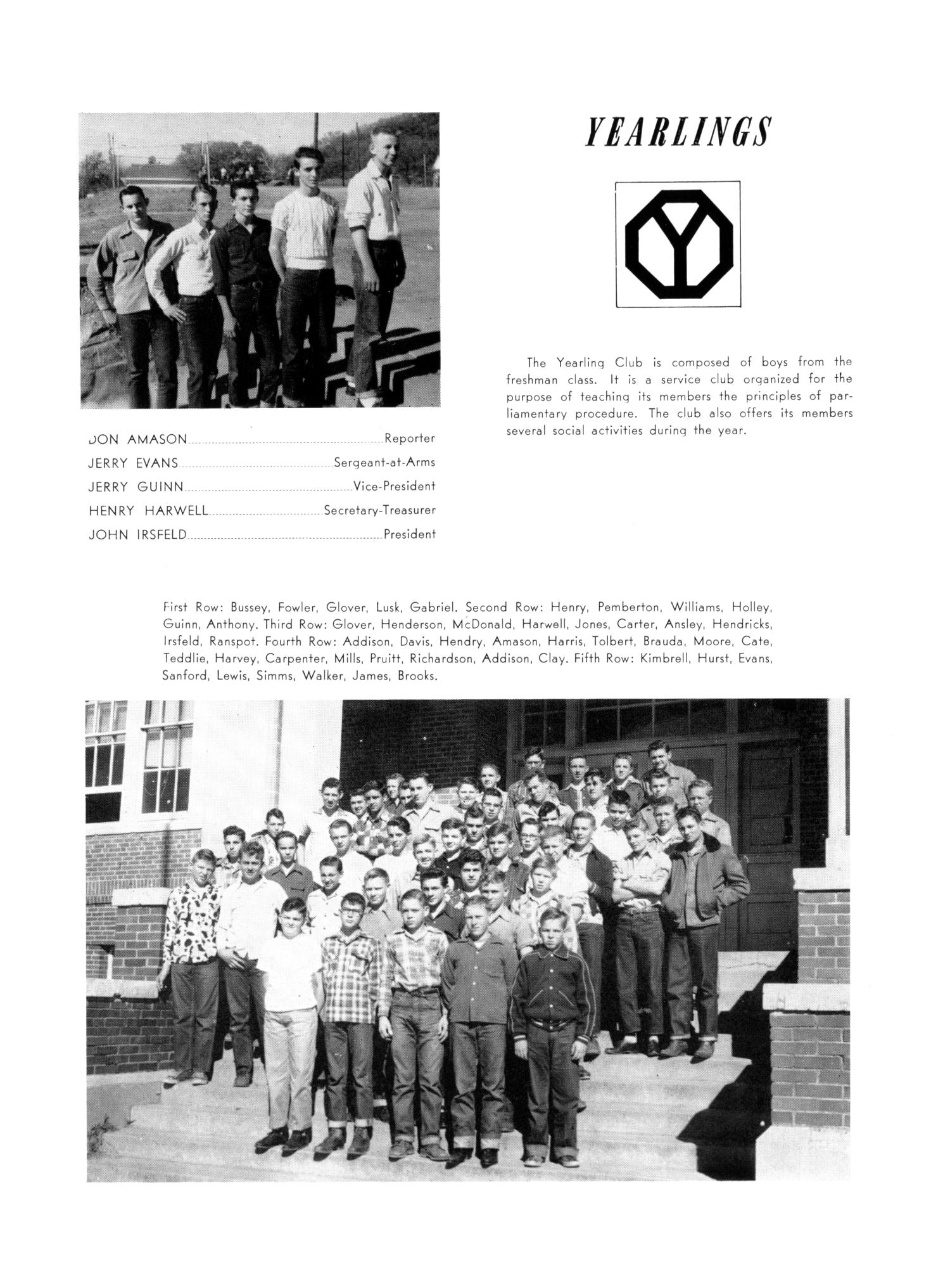 The Burro, Yearbook of Mineral Wells High School, 1953                                                                                                      86
