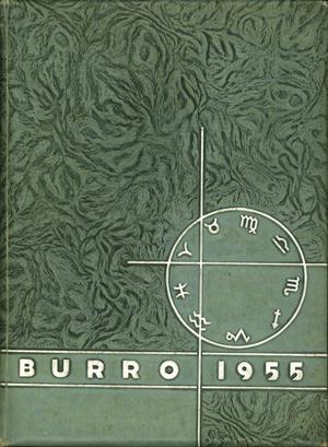 The Burro, Yearbook of Mineral Wells High School, 1955
