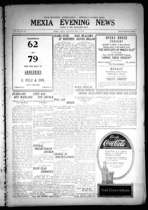 Primary view of object titled 'Mexia Evening News (Mexia, Tex.), Vol. 21, No. 194, Ed. 1 Saturday, September 13, 1919'.