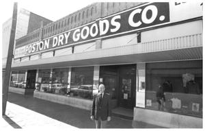 Primary view of object titled '[Poston's Dry Goods, 9 of 15:   Outside of Store Front]'.
