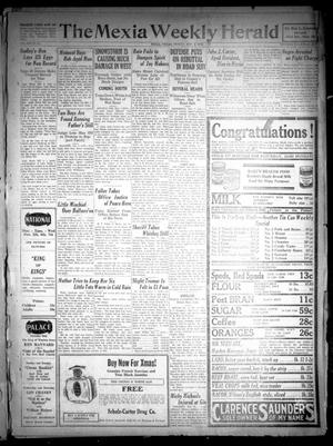 Primary view of object titled 'The Mexia Weekly Herald (Mexia, Tex.), Vol. 30, No. 44, Ed. 1 Friday, November 2, 1928'.