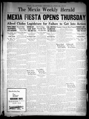 Primary view of object titled 'The Mexia Weekly Herald (Mexia, Tex.), Vol. 37, No. 43, Ed. 1 Friday, October 18, 1935'.