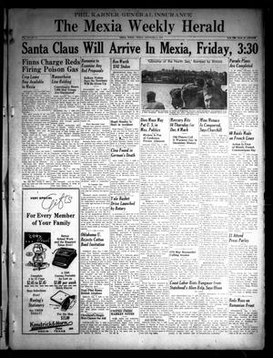 Primary view of object titled 'The Mexia Weekly Herald (Mexia, Tex.), Vol. 41, No. 50, Ed. 1 Friday, December 8, 1939'.
