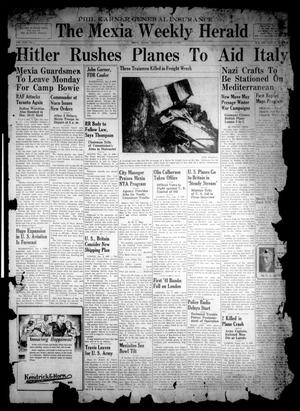 Primary view of object titled 'The Mexia Weekly Herald (Mexia, Tex.), Vol. 43, No. 1, Ed. 1 Friday, January 3, 1941'.