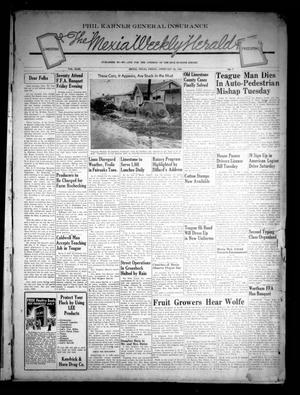 Primary view of object titled 'The Mexia Weekly Herald (Mexia, Tex.), Vol. 43, No. 7, Ed. 1 Friday, February 28, 1941'.