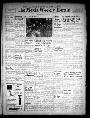 Primary view of object titled 'The Mexia Weekly Herald (Mexia, Tex.), Vol. 43, No. 11, Ed. 1 Friday, March 28, 1941'.
