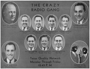 Primary view of object titled 'THE CRAZY RADIO GANG'.