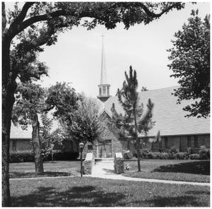 Primary view of object titled '[First Christian Church]'.
