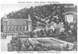 Primary view of object titled 'Methodist Church - Baker Gardens - East Mountain'.