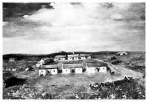 Primary view of object titled 'Print of the Original Fort Worth'.
