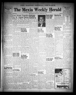 Primary view of object titled 'The Mexia Weekly Herald (Mexia, Tex.), Vol. 49, No. 45, Ed. 1 Thursday, November 13, 1947'.