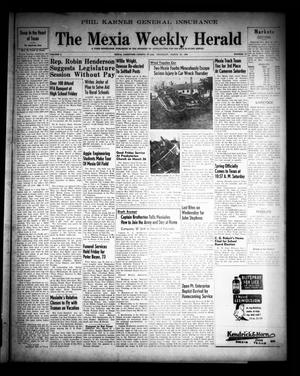 Primary view of object titled 'The Mexia Weekly Herald (Mexia, Tex.), Vol. 50, No. 13, Ed. 1 Thursday, March 25, 1948'.