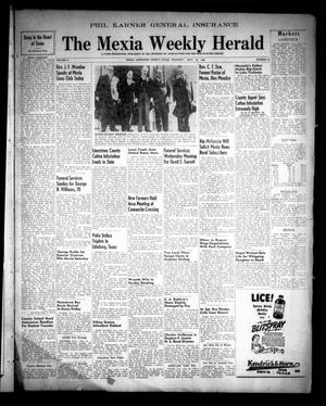 Primary view of object titled 'The Mexia Weekly Herald (Mexia, Tex.), Vol. 50, No. 30, Ed. 1 Thursday, July 22, 1948'.