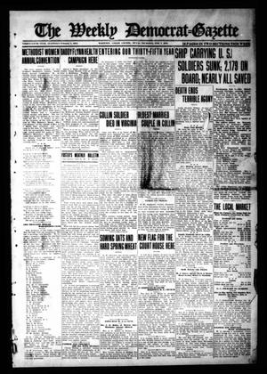 Primary view of object titled 'The Weekly Democrat-Gazette (McKinney, Tex.), Vol. 35, Ed. 1 Thursday, February 7, 1918'.