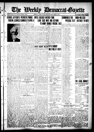 Primary view of object titled 'The Weekly Democrat-Gazette (McKinney, Tex.), Vol. 35, Ed. 1 Thursday, March 21, 1918'.