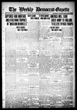 Primary view of object titled 'The Weekly Democrat-Gazette (McKinney, Tex.), Vol. 35, Ed. 1 Thursday, April 4, 1918'.
