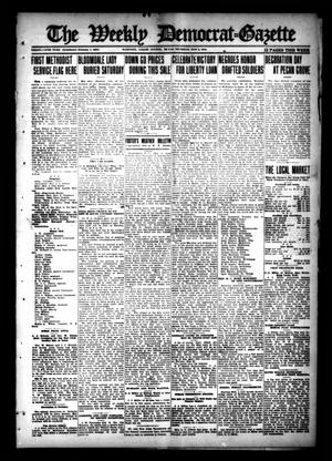 Primary view of object titled 'The Weekly Democrat-Gazette (McKinney, Tex.), Vol. 35, Ed. 1 Thursday, May 2, 1918'.