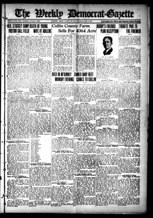 Primary view of object titled 'The Weekly Democrat-Gazette (McKinney, Tex.), Vol. 35, Ed. 1 Thursday, May 9, 1918'.