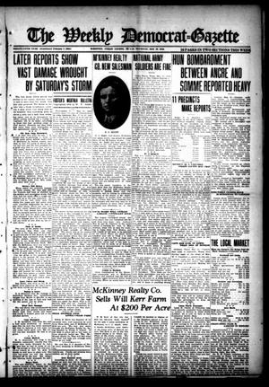 The Weekly Democrat-Gazette (McKinney, Tex.), Vol. 35, Ed. 1 Thursday, May 16, 1918