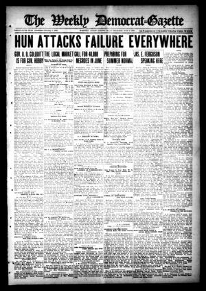 Primary view of object titled 'The Weekly Democrat-Gazette (McKinney, Tex.), Vol. 35, Ed. 1 Thursday, June 6, 1918'.