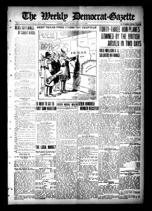 Primary view of object titled 'The Weekly Democrat-Gazette (McKinney, Tex.), Vol. 35, Ed. 1 Thursday, July 4, 1918'.