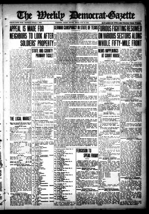 Primary view of object titled 'The Weekly Democrat-Gazette (McKinney, Tex.), Vol. 35, Ed. 1 Thursday, July 18, 1918'.