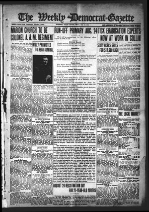 The Weekly Democrat-Gazette (McKinney, Tex.), Vol. 35, Ed. 1 Thursday, August 15, 1918