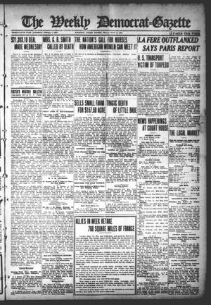 Primary view of object titled 'The Weekly Democrat-Gazette (McKinney, Tex.), Vol. 35, Ed. 1 Thursday, September 12, 1918'.