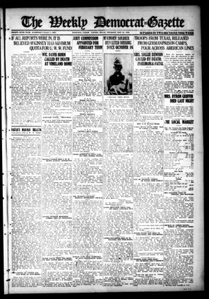 Primary view of object titled 'The Weekly Democrat-Gazette (McKinney, Tex.), Vol. 35, Ed. 1 Thursday, November 21, 1918'.