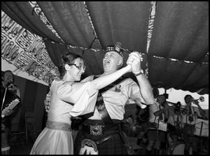 Primary view of object titled '[Powell Rothers Dancing with Partner]'.