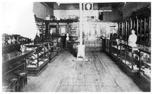 Primary view of object titled 'C. J. Wall's Drug Store'.