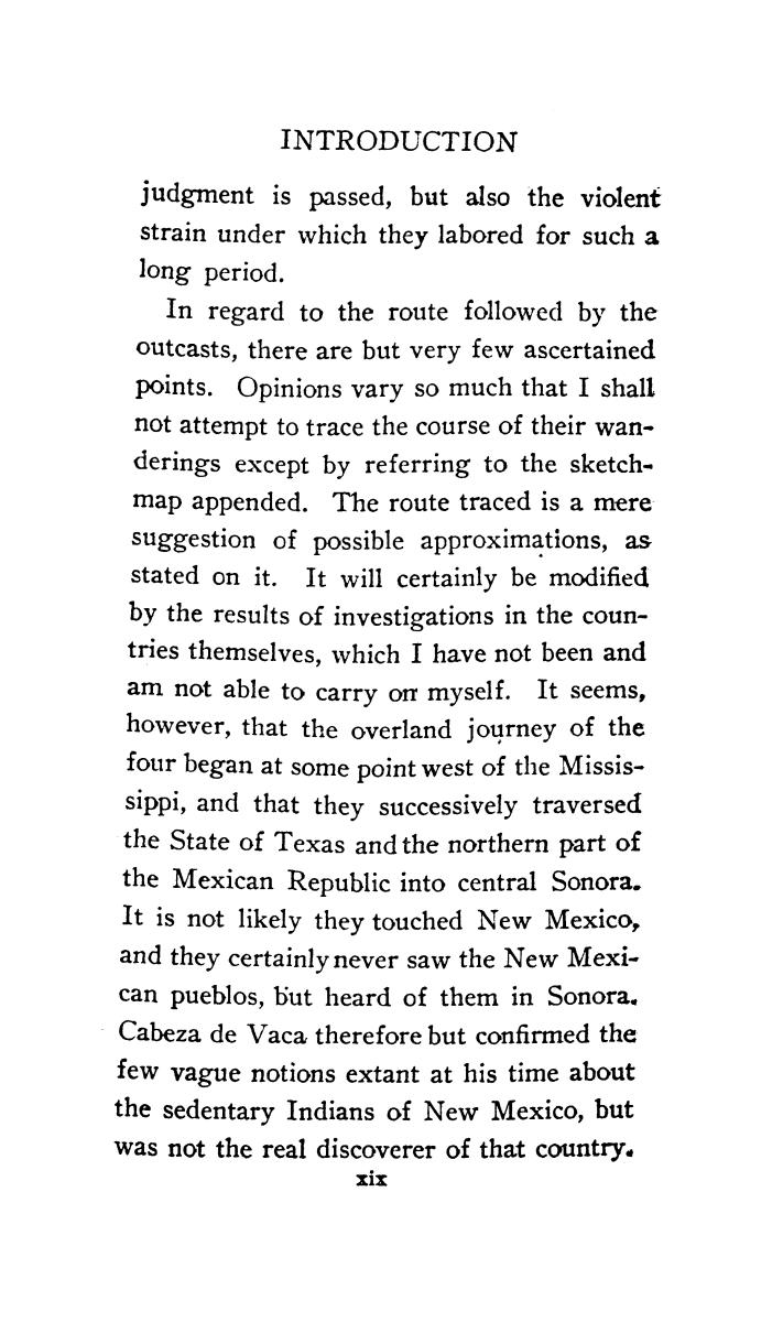 The journey of Alvar Nuñez Cabeza de Vaca and his companions from Florida to the Pacific, 1528-1536                                                                                                      [Sequence #]: 18 of 253