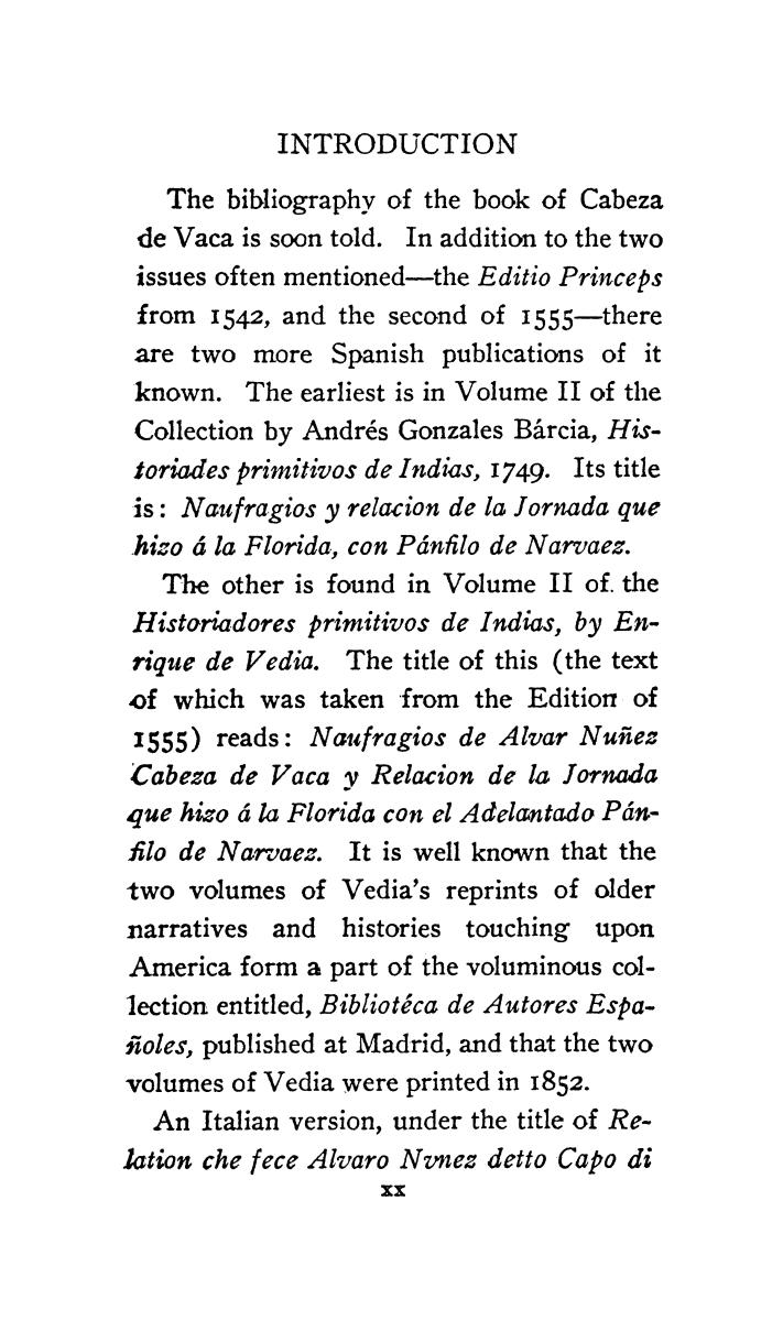 The journey of Alvar Nuñez Cabeza de Vaca and his companions from Florida to the Pacific, 1528-1536                                                                                                      [Sequence #]: 19 of 253