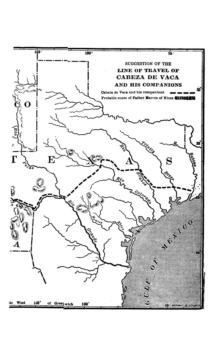 The journey of Alvar Nuñez Cabeza de Vaca and his companions from Florida to the Pacific, 1528-1536                                                                                                      [Sequence #]: 2 of 253
