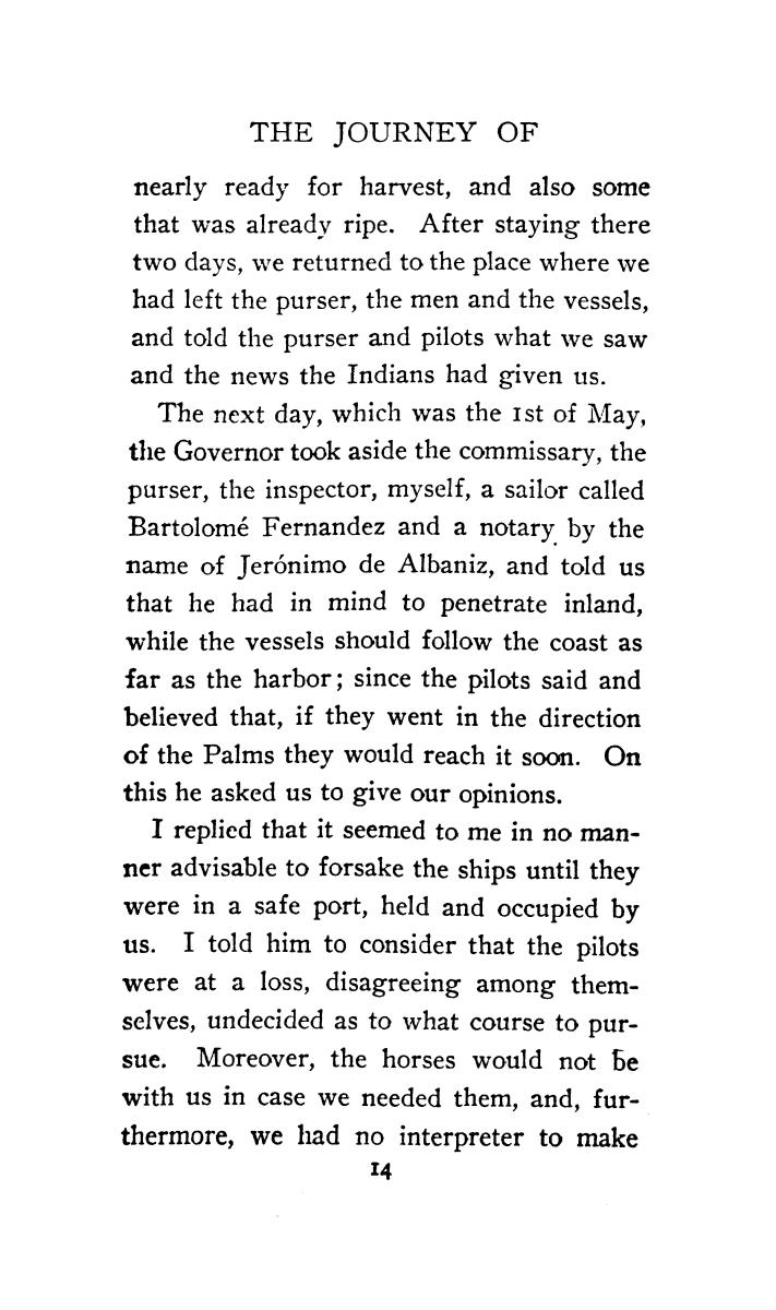 The journey of Alvar Nuñez Cabeza de Vaca and his companions from Florida to the Pacific, 1528-1536                                                                                                      [Sequence #]: 36 of 253