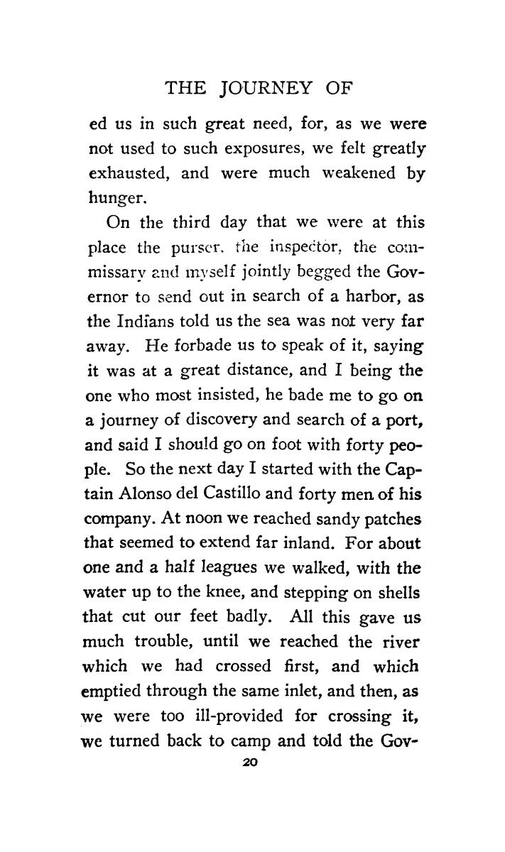 The journey of Alvar Nuñez Cabeza de Vaca and his companions from Florida to the Pacific, 1528-1536                                                                                                      [Sequence #]: 42 of 253