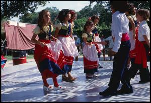 Primary view of object titled '[Young Italian Folk Dancers]'.