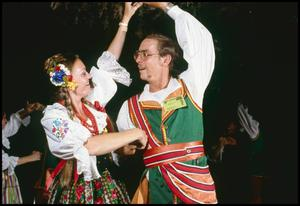 Primary view of object titled '[Polish Krakowiak  Dancers]'.