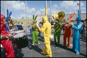 Primary view of object titled '[Bunny Brass Band]'.