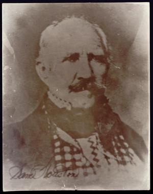 Primary view of object titled 'Photograph of Sam Houston'.