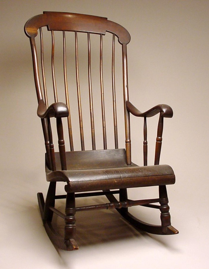 Cool Rocking Chair Of Lorenzo De Zavala The Portal To Texas History Unemploymentrelief Wooden Chair Designs For Living Room Unemploymentrelieforg