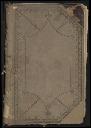 Primary view of object titled 'Ledger for the Church of Christ at Alvord'.